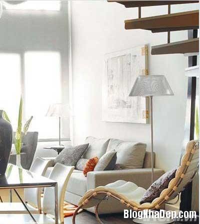 khong gian dep 8 Bố trí không gian sống tiện nghi trong căn hộ nhỏ