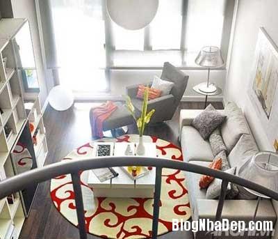 khong gian dep 9 Bố trí không gian sống tiện nghi trong căn hộ nhỏ