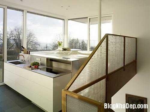 khong gian ly tuong 2 Ngôi nhà thân thiện với thiên nhiên ở Thụy Sĩ