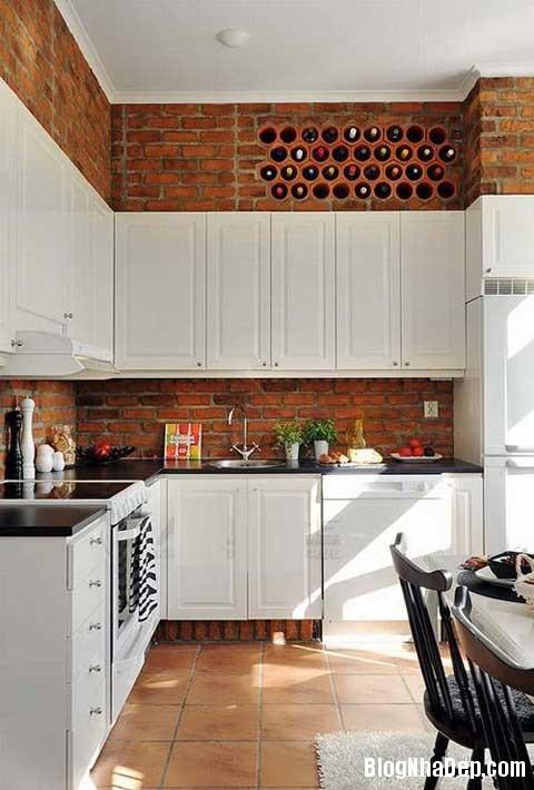 lat tran cho nha dep 9 Trang trí cho ngôi nhà đẹp mộc mạc với gạch trần