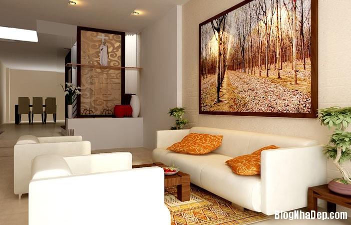 mau phong khach dep 11 Những mẫu phòng khách đẹp trang nhã