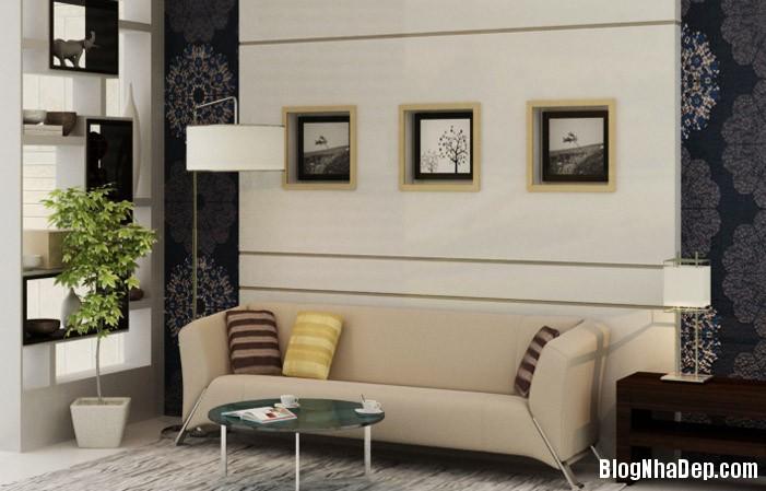 mau phong khach dep 16 Những mẫu phòng khách đẹp trang nhã