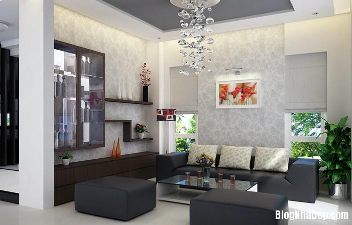 mau phong khach dep 18 Những mẫu phòng khách đẹp trang nhã