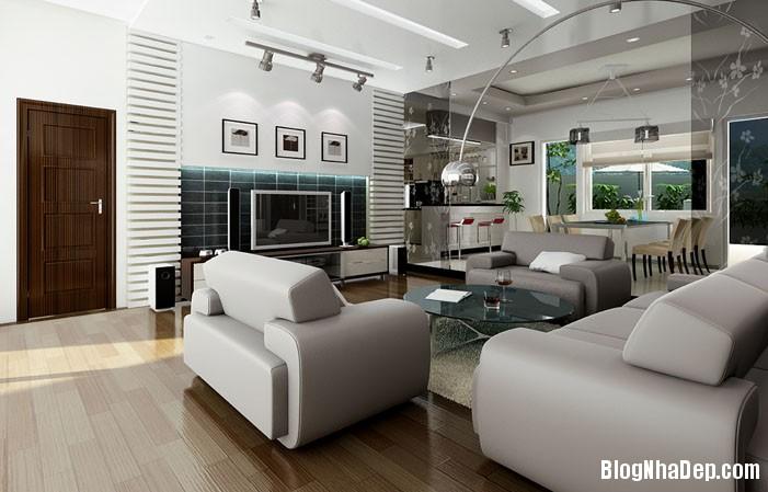 mau phong khach dep 28 Những mẫu phòng khách đẹp trang nhã