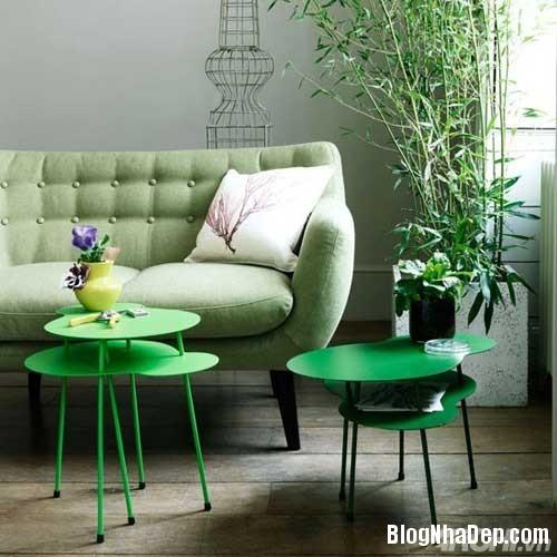 mau sac phong khach lang man 5  Kết hợp màu sắc ấn tượng cho phòng khách