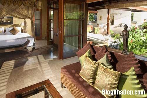 moc mac biet thu nhiet doi3 Biệt thự một phòng ngủ với sân vườn và bể bơi