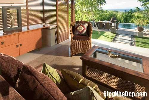 moc mac biet thu nhiet doi4 Biệt thự một phòng ngủ với sân vườn và bể bơi