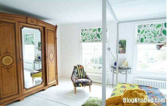 nha dep z10 Ngôi nhà với không gian nội thất đẹp ở Anh