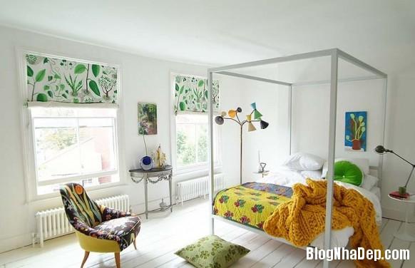 nha dep z11 Ngôi nhà với không gian nội thất đẹp ở Anh