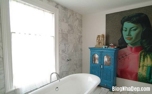 nha dep z13 Ngôi nhà với không gian nội thất đẹp ở Anh