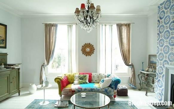 nha dep z2 Ngôi nhà với không gian nội thất đẹp ở Anh