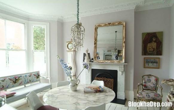 nha dep z6 Ngôi nhà với không gian nội thất đẹp ở Anh