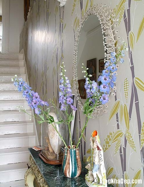 nha dep z9 Ngôi nhà với không gian nội thất đẹp ở Anh