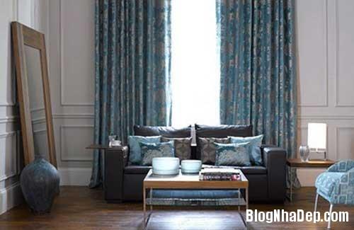 nha dep4 Dịu dàng tô điểm cho ngôi nhà với sắc xanh