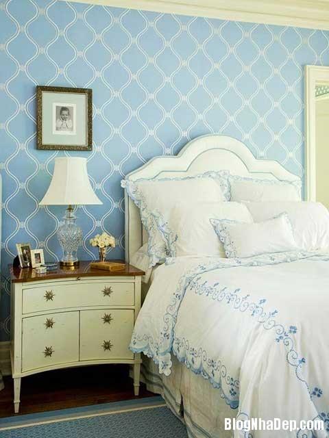 nhung mau phong ngu dang mo uoc6 Mẫu phòng ngủ đẹp tinh tế