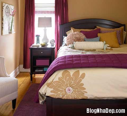 nhung mau phong ngu dang mo uoc8 Mẫu phòng ngủ đẹp tinh tế