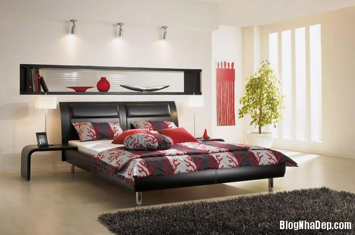 noi that phong ngu hien dai 1 Phòng ngủ mang phong cách hiện đại