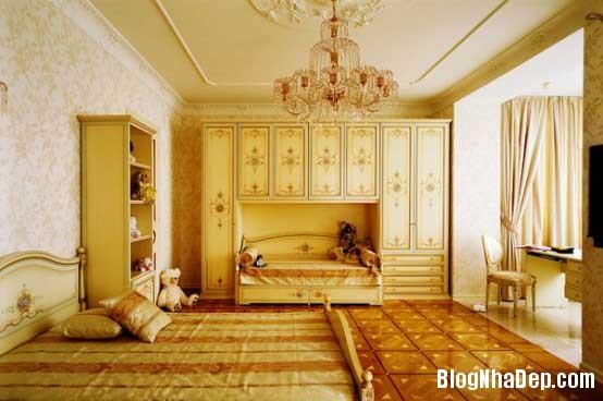 noi that phong ngu  10 Mẫu phòng ngủ phong cách cổ điển dành cho bé gái