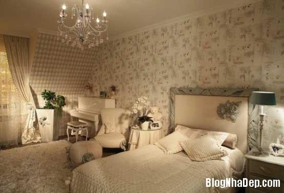 noi that phong ngu1  10 Mẫu phòng ngủ phong cách cổ điển dành cho bé gái