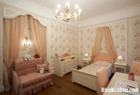 noi that phong ngu2  10 Mẫu phòng ngủ phong cách cổ điển dành cho bé gái