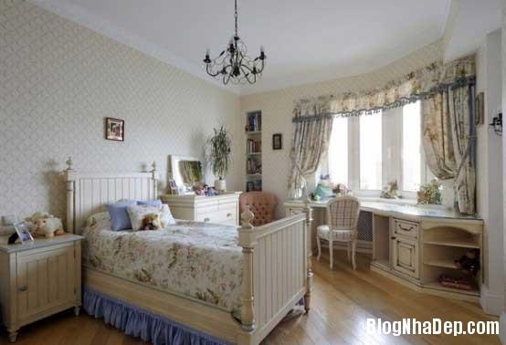 noi that phong ngu3  10 Mẫu phòng ngủ phong cách cổ điển dành cho bé gái