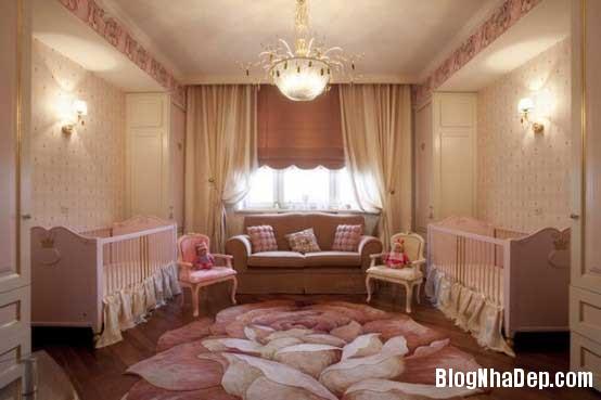 noi that phong ngu4  10 Mẫu phòng ngủ phong cách cổ điển dành cho bé gái