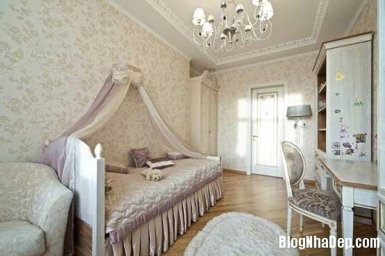 noi that phong ngu5  10 Mẫu phòng ngủ phong cách cổ điển dành cho bé gái