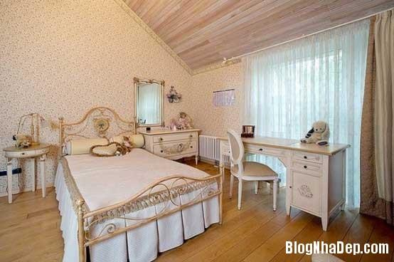 noi that phong ngu7  10 Mẫu phòng ngủ phong cách cổ điển dành cho bé gái