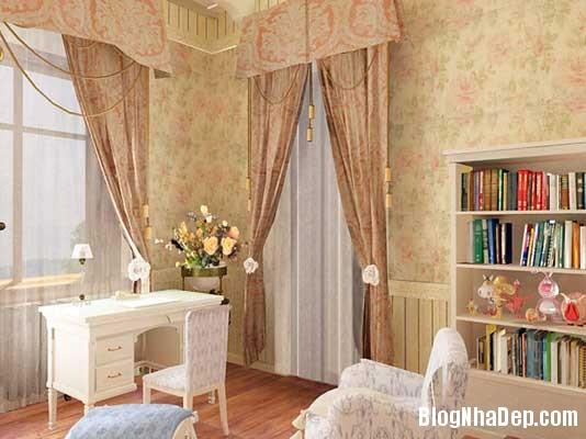 noi that phong ngu8  10 Mẫu phòng ngủ phong cách cổ điển dành cho bé gái