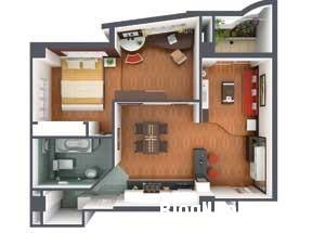 nt 23 Nội thất hoàn chỉnh cho căn hộ có diện tích 70m2