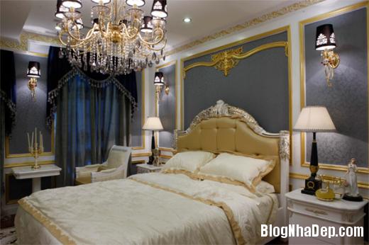 phong ngu 3 Thiết kế phòng ngủ theo phong cách cổ điển
