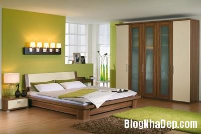 phong ngu an tuong 1 Một chút thay đổi để có phòng ngủ đẹp