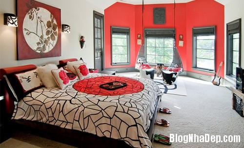 phong ngu chau a 1 Mang phong cách Á Đông vào phòng ngủ