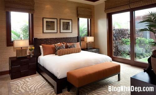 phong ngu chau a 2 Mang phong cách Á Đông vào phòng ngủ