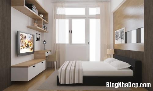 phong ngu dep 1 1 Thiết kế phòng ngủ đơn giản và cá tính