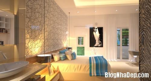 phong ngu dep 4 Thiết kế phòng ngủ đơn giản và cá tính