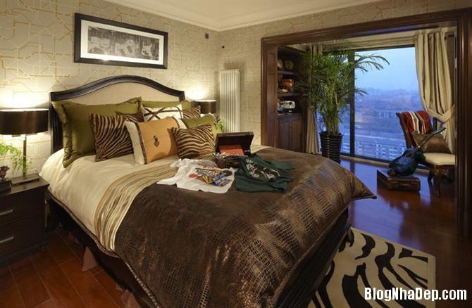 phong ngu tan co dien 3 Thiết kế phòng ngủ theo phong cách tân cổ điển
