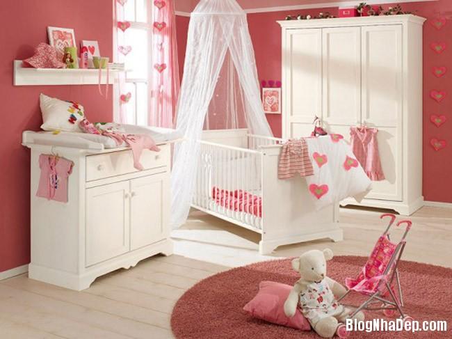 phong tre so sinh 5 Trang trí không gian hài hòa cho phòng trẻ sơ sinh