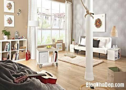 phong khach dep Phối màu cho phòng khách đẹp tự nhiên