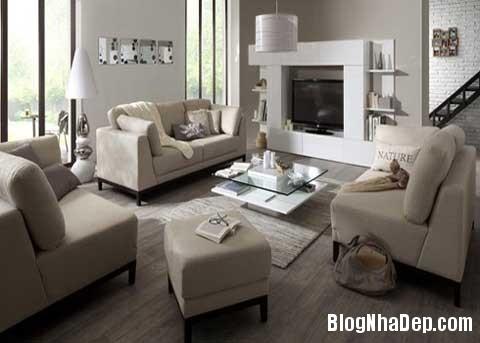 phong khach dep1 Phối màu cho phòng khách đẹp tự nhiên