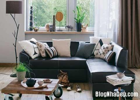phong khach dep4 Phối màu cho phòng khách đẹp tự nhiên
