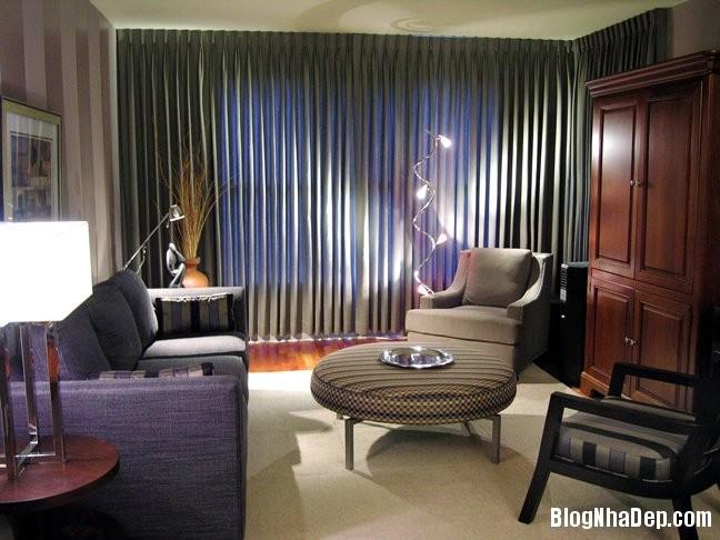 phong khach nho8 Giải pháp nới rộng phòng khách nhỏ