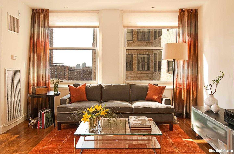 phong khach nho9 Giải pháp nới rộng phòng khách nhỏ