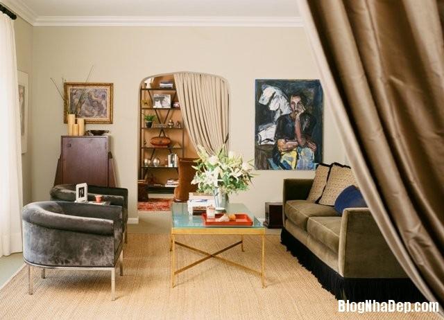 phong khach nhoa4 Giải pháp nới rộng phòng khách nhỏ
