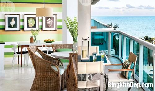 san vuon dep Ngắm căn hộ cao cấp bên bờ biển Miami