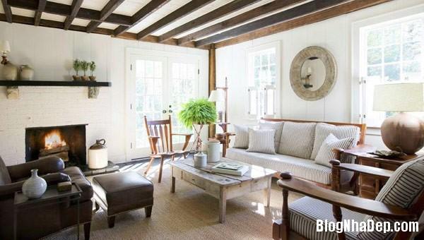 shawn henderson upstate cot Trang trí nội thất nhà bằng họa tiết kẻ sọc
