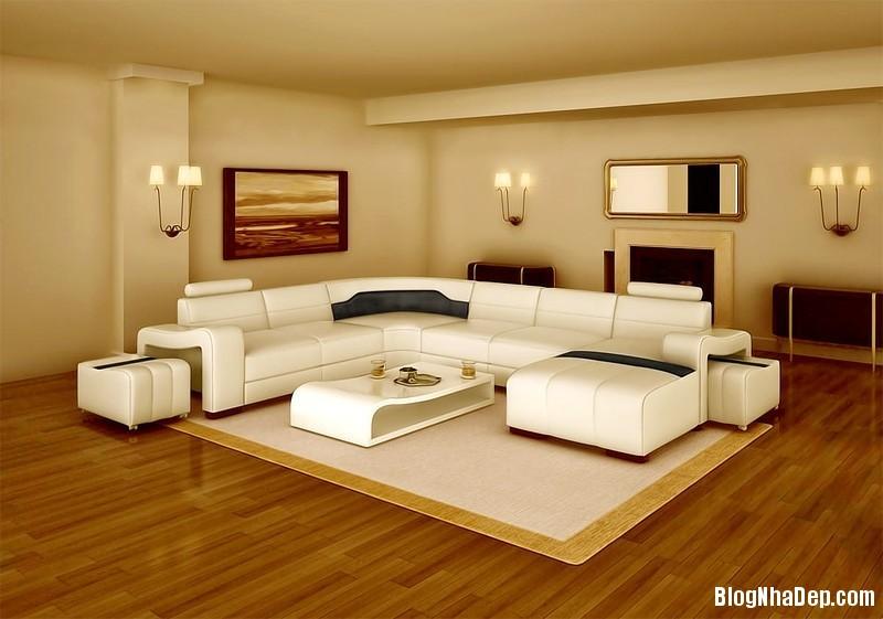 sofa phong khach spk09 Phòng khách đẹp hơn với những mẫu sofa hiện đại
