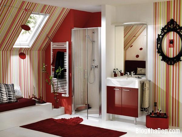 stripes room 1 Trang trí nội thất nhà bằng họa tiết kẻ sọc