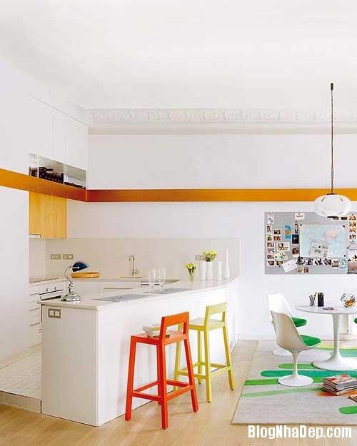 thiet ke nha dep 31 Cách bài trí sống động trong nhà đẹp ở Barcelona