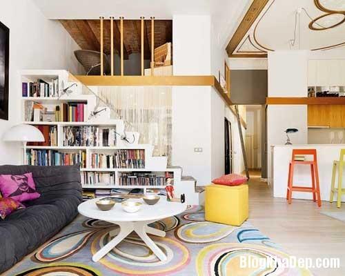 thiet ke nha dep 61 Cách bài trí sống động trong nhà đẹp ở Barcelona